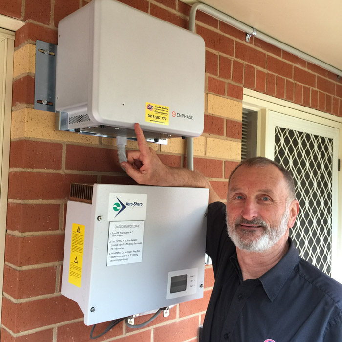Castlemaines-first-enphase-solar-battery-install